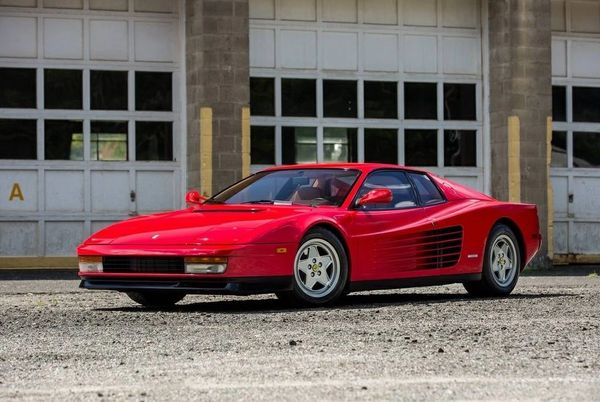 1990 Ferrari Testarossa Absolutely Mint Recent Extensive
