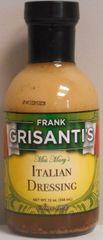 Frank Grisanti's Italian Dressing 12 oz.