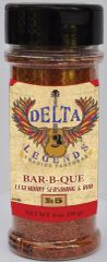 Delta Legends Bar-B-Que Seasoning