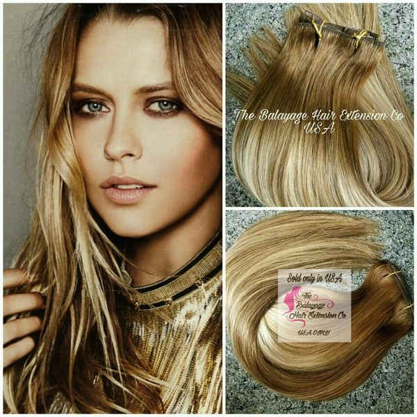 Chestnut Copper Brown Balayage Balayage Hair Extensions