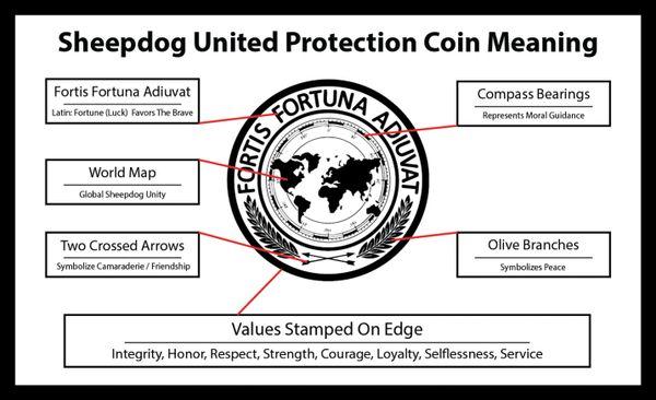 Sheepdog Unites Silver Protection Coin Sheepdog United The