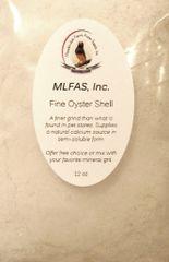 MLFAS, Inc. Fine Oyster Shell™ - 12oz