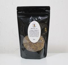 MLFAS, Inc. Crispy Critters™ Dried Meal Worms - 2oz
