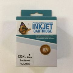 Remanufactured HP 920XL (CD975AN) Black Inkjet Cartridge