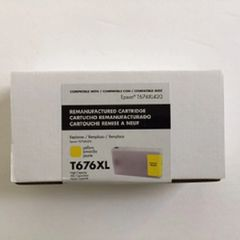 Remanufactured Epson T676XL420 Inkjet Yellow