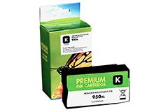 Remanufactured HP 950XL (CN045AN) Black Inkjet Cartridge