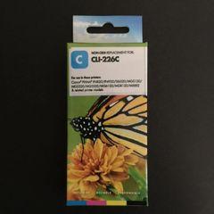 Compatible Canon CLI-226 (4547B001) Cyan Inkjet Cartridge