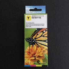 Compatible Canon CLI-251XL (6451B001) Yellow Inkjet Cartridge