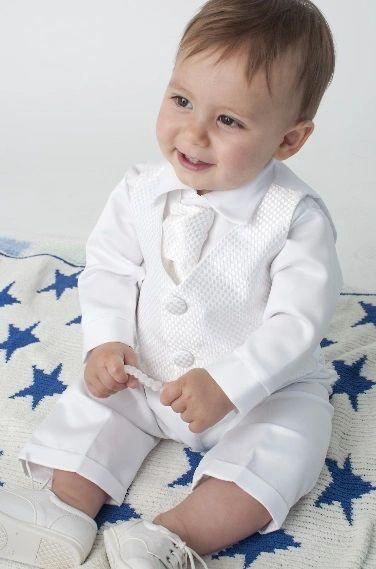 b581e568d Baby Boys Christening / Baptism Giorgio Checked Waistcoat Suit ...