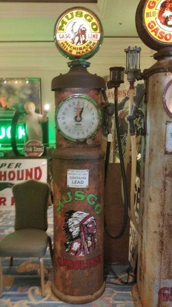 TOKHEIM 850, MUSGO gas pump, SOLD   Rescued Antiques