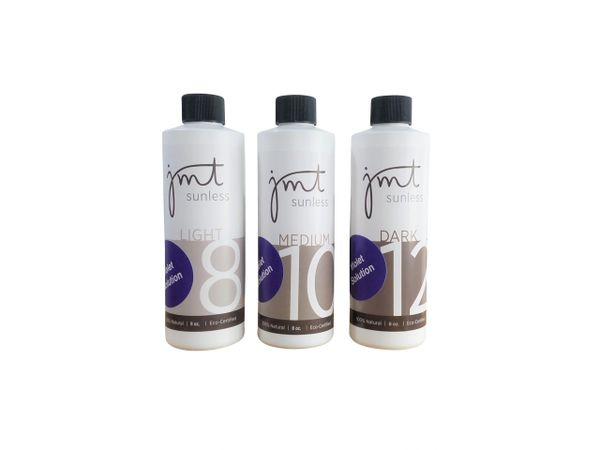 (8oz) VIOLET Sample Pack: Violet Light 8%, Medium 10% and Dark 12%