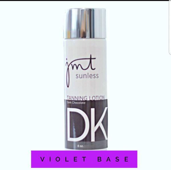 Dark Chocolate Violet Base Tanning Lotion/Tan Extender