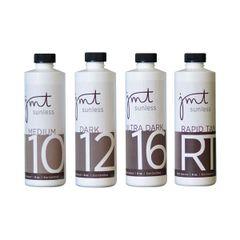 #4 Solution Sample Pack (8oz): 10%, 12%, 16% & Rapid Tan
