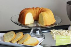 Lemon Butter Pound Cake
