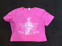 Women's Lakeview Drive In Logo Tee