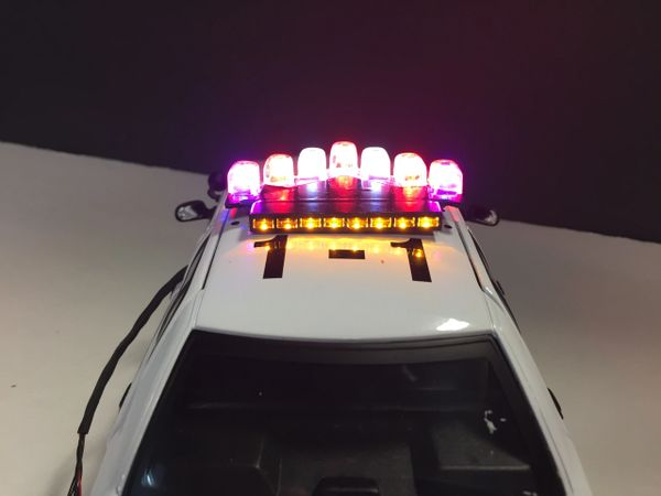 Rotating vector light bar modelfied custom cruisers rotating vector light bar aloadofball Gallery