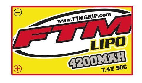 FTMLIPO Lithium Polymer raw materials. 4200 90c/instock