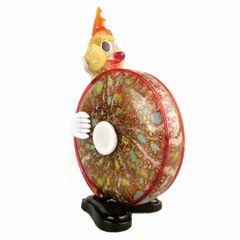Vintage Murano Art Glass Clown Figurine