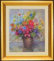 """Maria del Carmen """"Wild Flowers in Vase"""""""