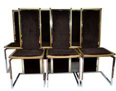 Romeo Rega Dining Chairs, Set of Six