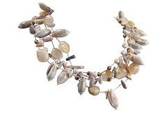 Artisan Sea Shell Necklace