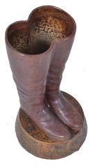 Boots Umbrella Stand in Terracotta