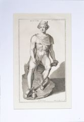Mercury a Copperplate Engraving