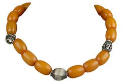 African Trading Beads Necklace