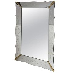 Large Venetian Style Mirror