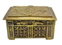 Antique Bronze Box from Belgium