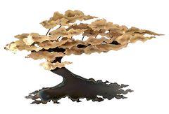 Ross Metal Wall Tree Sculpture