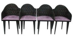 Saporiti Dining Chairs, Set/10
