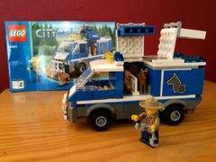 4441 police dog van
