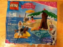30397 olaf summertime fun polybag