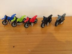 sp111 motorcycles- assorted colors