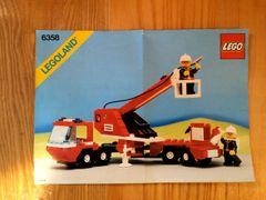 6358 platform lift truck