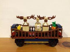 sp96 10254 custom reindeer car
