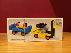 450 fork lift with trailer