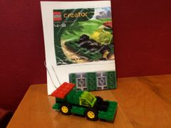 4016 green racer polybag