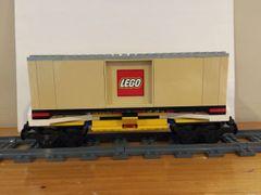 sp52 7939 lg tan boxcar-lego