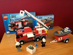 7239 ladder truck / raft / trailer