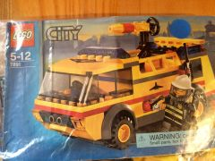 7891 airport fire truck- yellow
