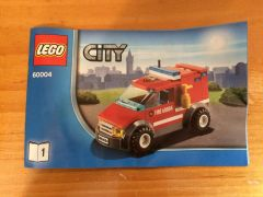 60004 fire van only