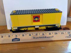 sp32 7939 lg box car yellow