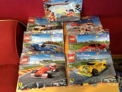 2014 shell ferrari race car set