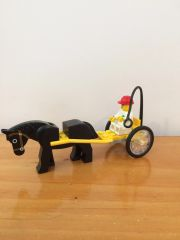 sp154 trotter from pink lego 1980's