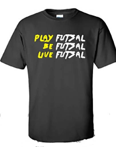 #PLAY BE LIVE FUTSAL TEE
