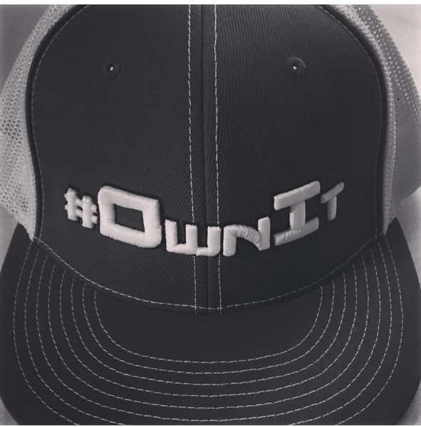 #ownit fitted hat