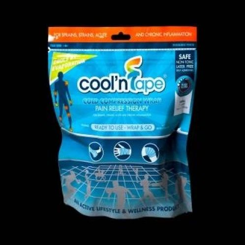 """Cool'NTape Cold Compression Wrap Small- (2"""" x 48"""") (Small)"""