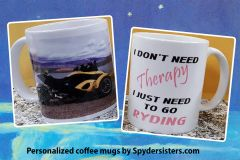 Can Am Spyder - Your Photo - Your Saying Custom 11oz Mug
